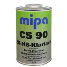 Авто лак Mipa CS90 1л + втвърдител MS 0,5