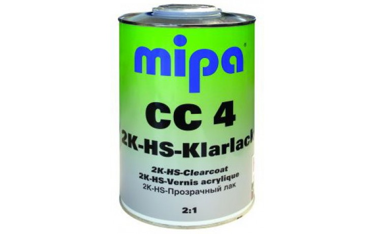 Авто лак Mipa СС4 1л компл с втв HS 0,500