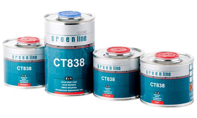 Лак Troton CT 838 1L комплект
